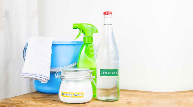 Vinegar, your next BFF in cleaning!