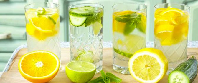 Make Your Own Cucumber Lemon Detox Water