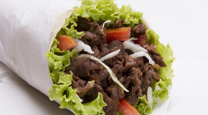 Easy, Healthy Beef  Wrap Recipe